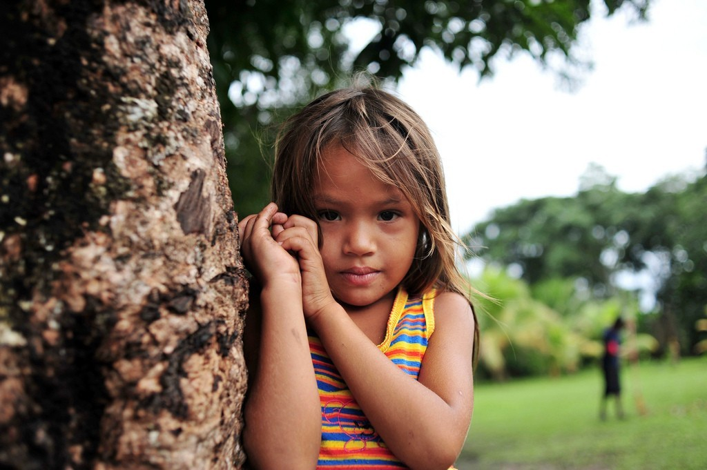 A Child from Sao Felix, in the Brazilian Amazon ©Neil Palmer/CIAT, photograph courtesy of CIFOR