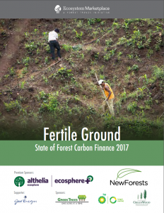 State of Forest carbon finance 2017